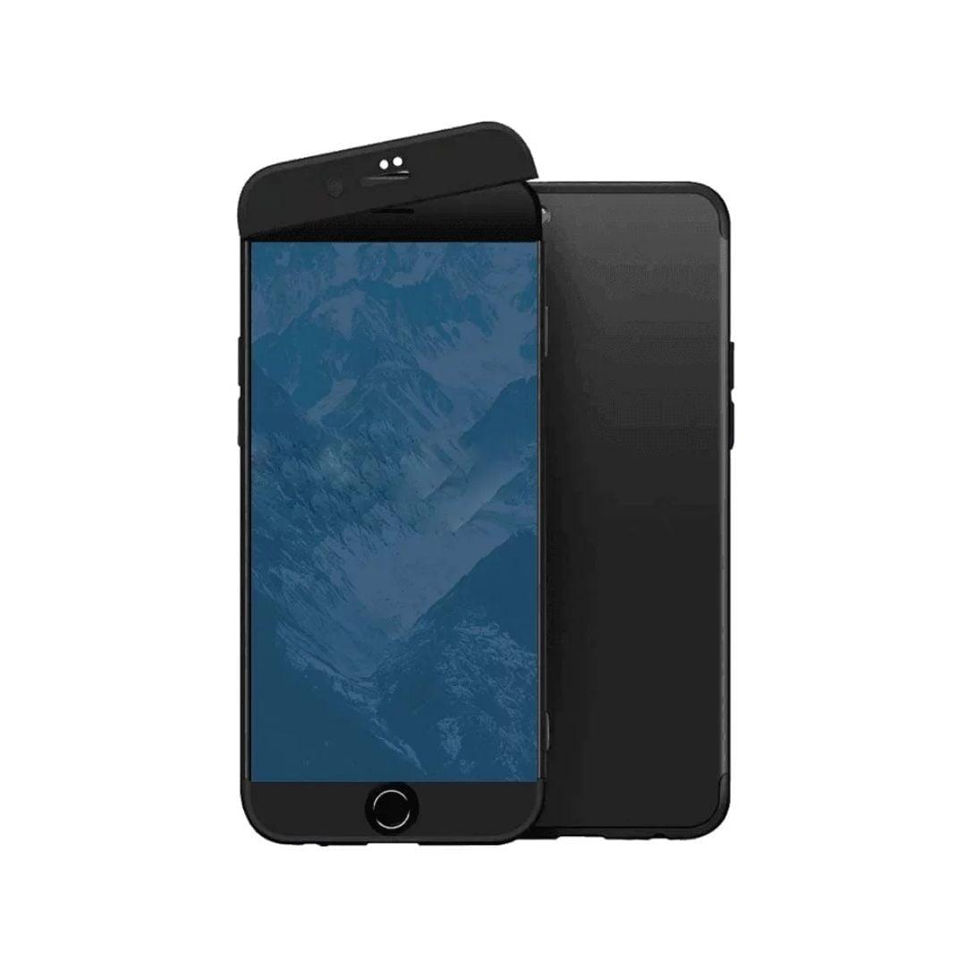 iphone 8 360 beskyttelsescover sort