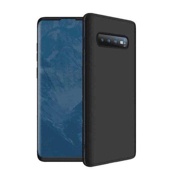 Samsung Galaxy S10 Plus 360 Beskyttelsescover Sort