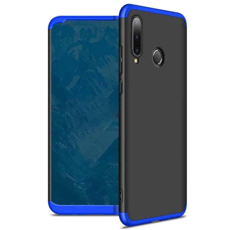 huawei p30 lite 360 beskyttelsescover sort/blå