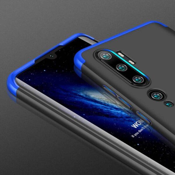 xiaomi-mi-note-10-360-beskyttelsescover-sort-blaa-mobil-cover