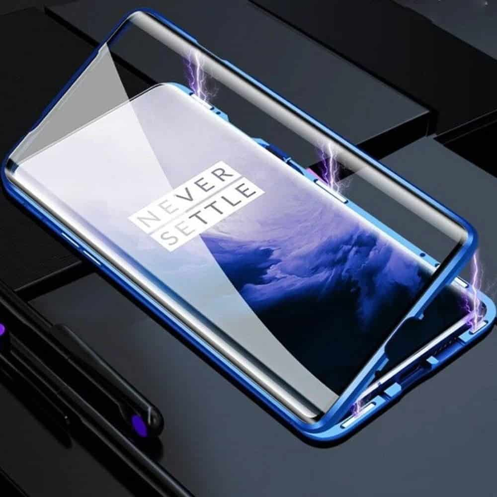 oneplus 8 pro perfect cover blå