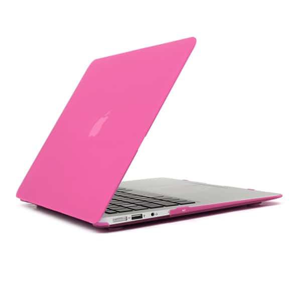 Macbook Air 11″ – Mat Hard Etui – Magenta