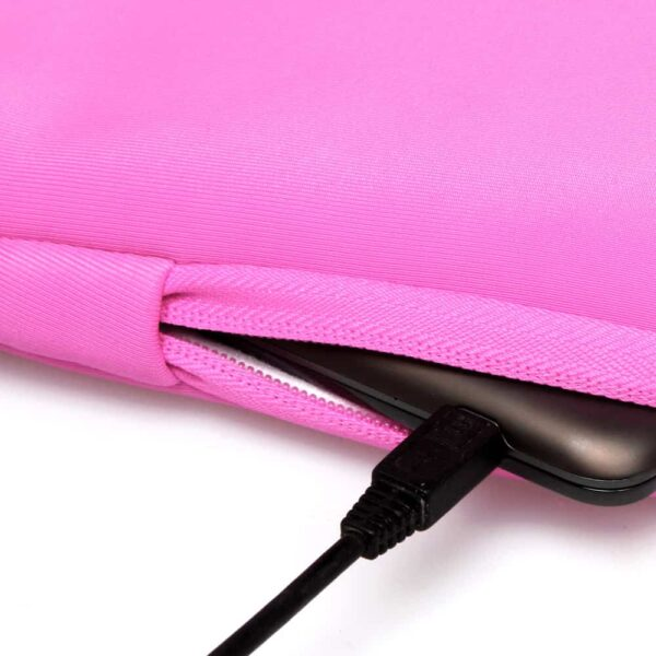 Macbook 15″ – Neopren Laptop Sleeve – Lyserød