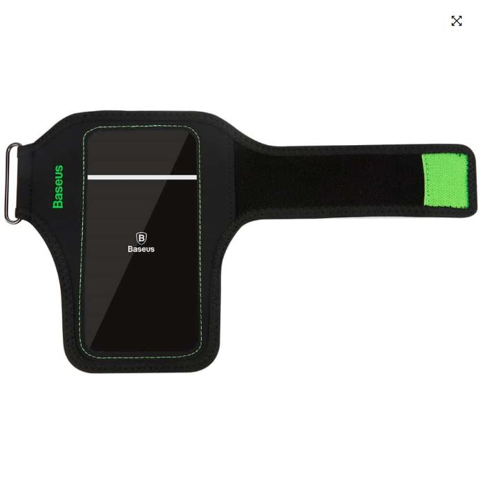 Mobilholder Løb Håndled - Grøn