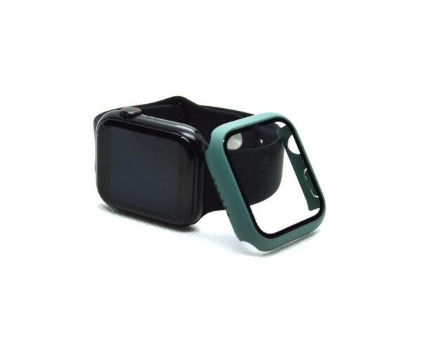 apple-watch-skaermbeskyttelse-full-protection-armygroen-40mm