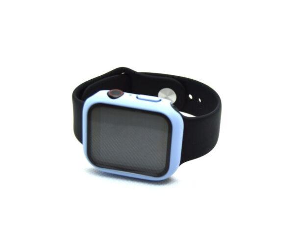 apple watch skærmbeskyttelse full protection blå 42mm