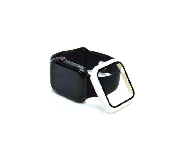 apple-watch-skaermbeskyttelse-full-protection-hvid-38mm