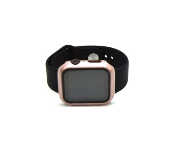 apple watch skærmbeskyttelse full protection rosa guld 42mm