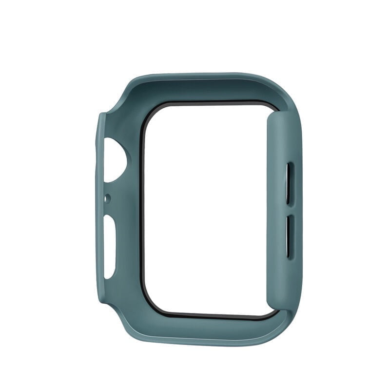Full-protection-cover-til-apple-watch-lysegroen-44mm