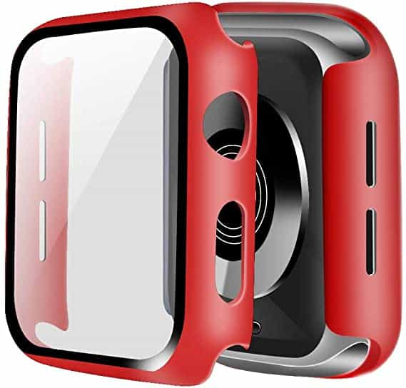 Full-protection-cover-til-apple-watch-roed-44mm