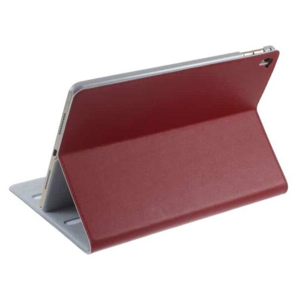 Ipad Pro 9.7 (a1673, A1674, A1675) – Doormoon Flip Stand Ægte Læder Smart Etui – Rød