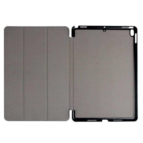 Ipad Pro 10,5″ (2017) (a1701, A1709) – Tri-fold Stand Kunstig Læder Cover – Lilla