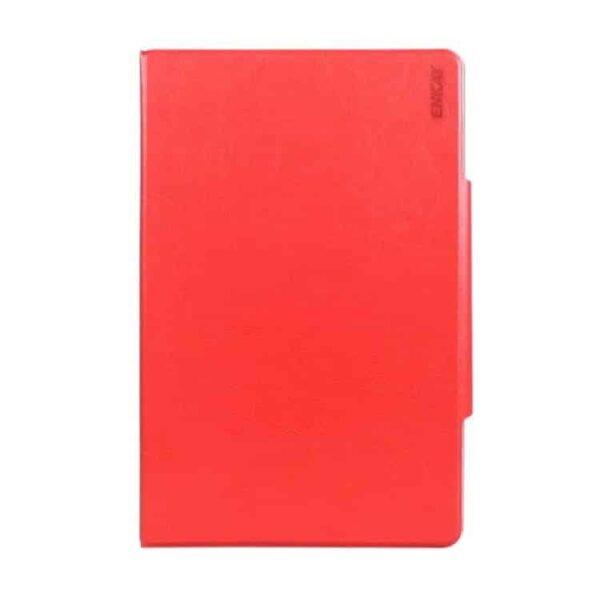 Ipad Pro 9.7 (a1673, A1674, A1675) – Enkay Spinkelt Pu Læder Etui Med Skindsmønster – Rød