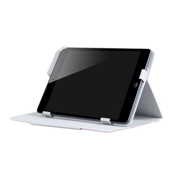 Ipad Pro 9.7 (a1673, A1674, A1675) – Enkay Spinkelt Pu Læder Etui Med Skindsmønster – Blå