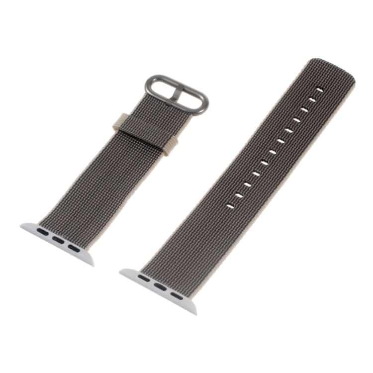 Apple Watch 42mm - Nylon Spænde Armbånd - Grå