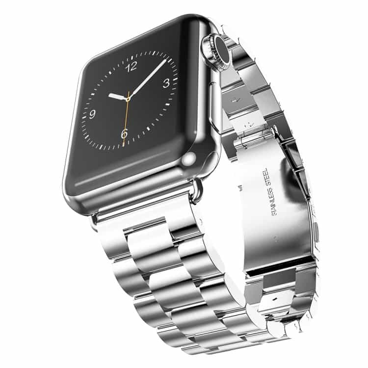 Apple Watch 42mm – HOCO Rustfrit Armbånd – Sølv