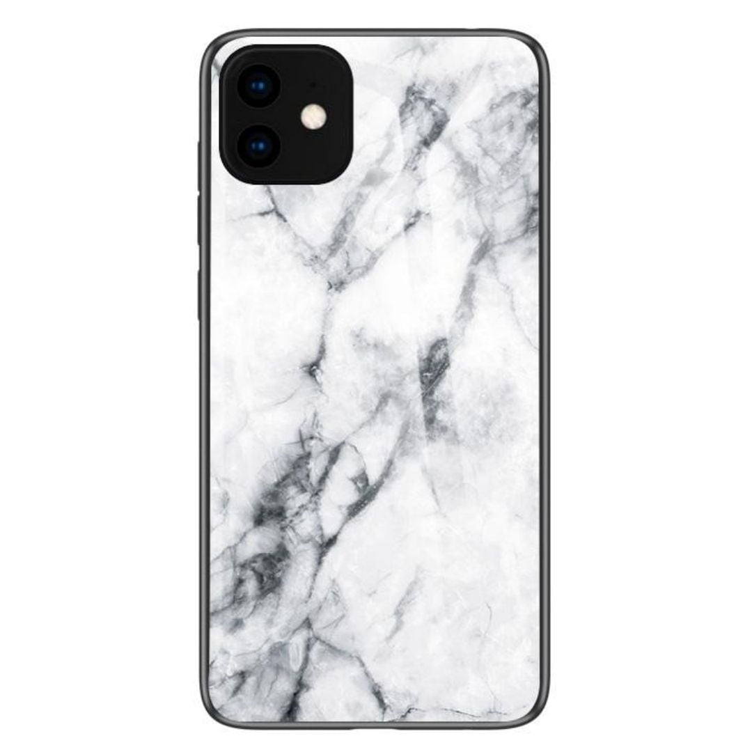 iPhone 11 Cover White Marble