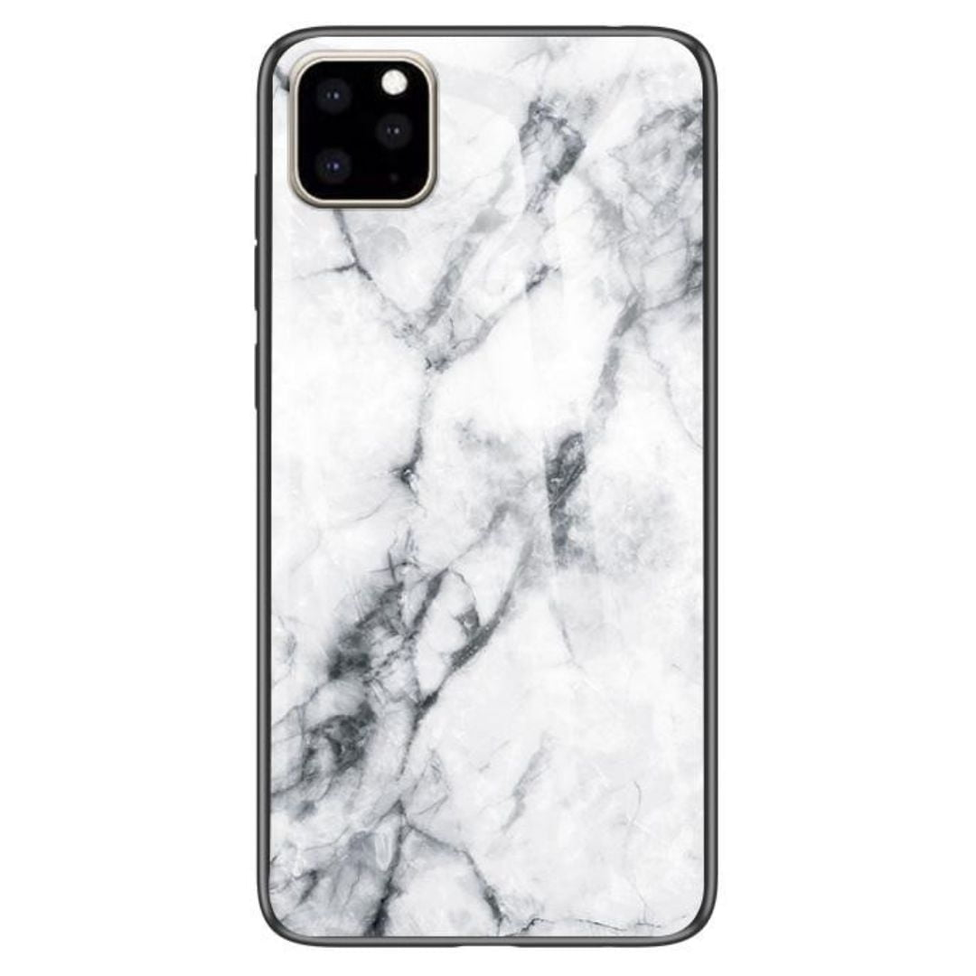iPhone 11 Pro max Cover White Marble