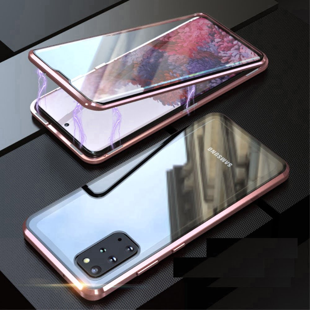 samsung s20 perfect cover rosa guld