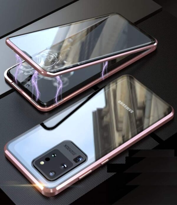 samsung s20 ultra perfect cover rosa guld