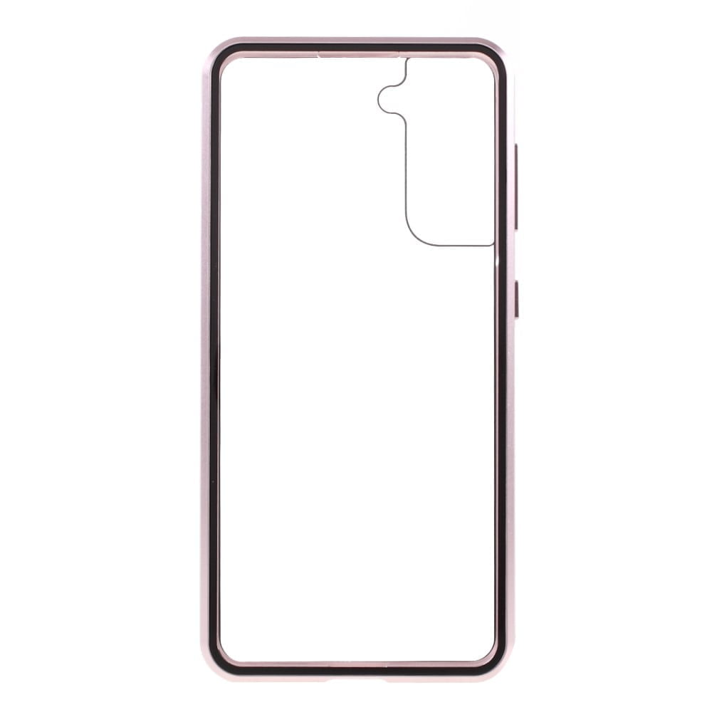 samsung s21 plus perfect cover rosa guld