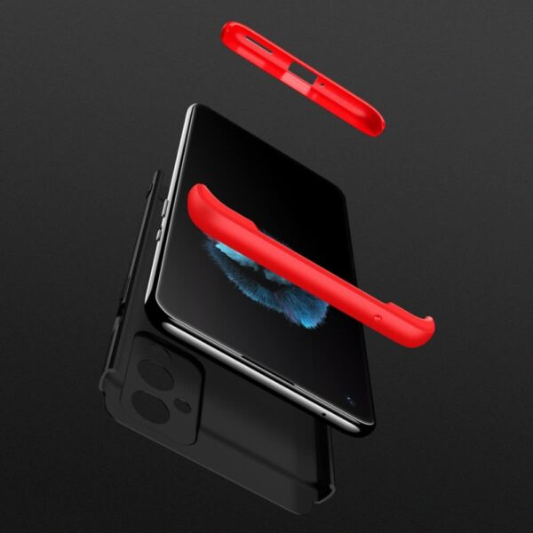 oneplus 9 360 beskyttelsescover sortroed mobil cover