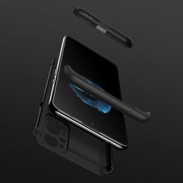 oneplus 9 pro 360 beskyttelsescover sort mobil cover