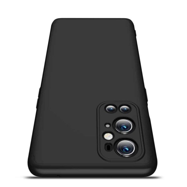 oneplus 9 pro 360 beskyttelsescover sort mobilcover