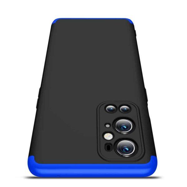 oneplus 9 pro 360 beskyttelsescover sortblaa mobil cover